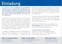 Erster Fachdialog ganzheitliche Sicherheit von Leitstellen am 29. Januar 2020 in Berlin