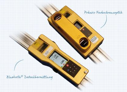Die Fahrdrahtmessgeräte FM4-LO und FM5-BT von Steinmeyer Mechatronik arbeiten hochpräzise und mit minimalem personellen Aufwand