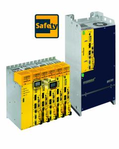 The converter family b maXX 5000 from Baumüller includes modular devices, double and mono-axes and can be configured with integrated safety features