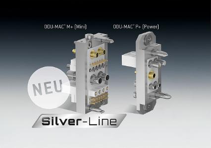 ODU-MAC Silver-Line with new M+/P+ docking frame varieties