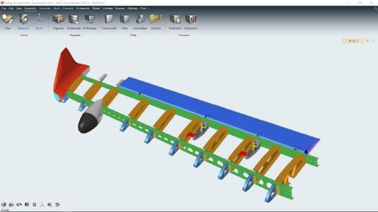 Designer, Ingenieure und CAE Experten können nun innerhalb einer einzigen intuitiven und konsistenten Benutzeroberfläche arbeiten