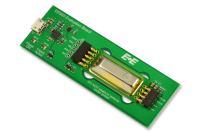 Das EE895 Evaluation Board ermöglicht ein einfaches Testen des Sensormoduls am PC