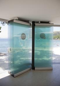 Manuelles Schiebewandsystem von GEZE im Hotel Formentor auf Mallorca