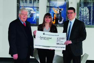 MAPAL donates EUR 20,000 for children in need