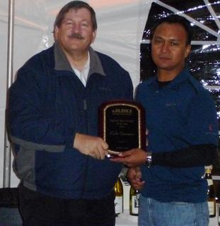 Carlos Eijansantos Awarded JAS, Inc. Regional Sales Manager of the Year