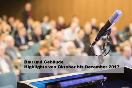 VDI Wissensforum Veranstaltungen Bau 2017
