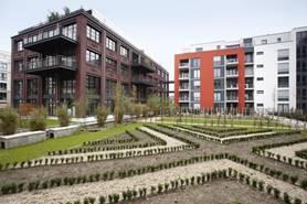 """Düsseldorfer Stadtquartier """"Les Halles"""", Quelle: BWP e.V."""