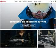 """Auf der Basis von novomind iSHOP von novomind und creativestyle realisiert: Mammut Online-Shop gewinnt Shop Usability Award 2020 als """"Bester Shop Schweiz"""" / Bild: Mammut"""