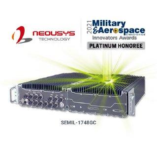 Lüfterloser GPU-Computer von Neousys, wasserdicht entsprechend IP67, mit den Military & Aerospace Electronics Innovators Awards 2021 ausgezeichnet