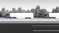Knorr-Bremse is working on a system for truck platooning and will shortly be testing it on US highways. | © Knorr-Bremse