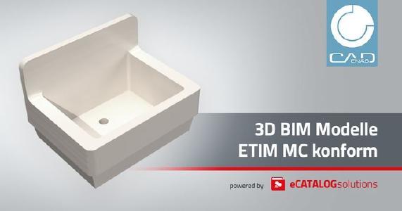 Ab sofort freigegebene ETIM Modeling Classes (MC) mit CADENAS umsetzen