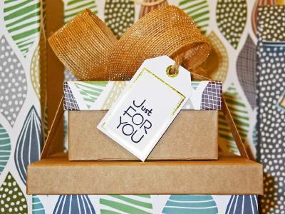 personalisierte Kartons