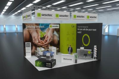 Sesotec presents a virtual interpack exhibition stand