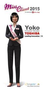 Toshiba Avatar Yoko
