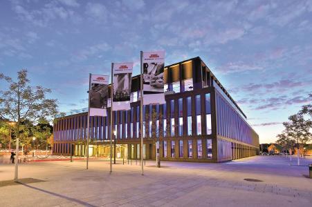 Conference venue for the International FSK Specialist Conference Polyurethane 2019 - Stadthalle in Reutlingen (BW)
