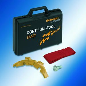 Mounting belts safely: With ContiTech's new CONTI® UNI-TOOL ELAST, properly installing elastic V-ribbed belts is no longer a problem