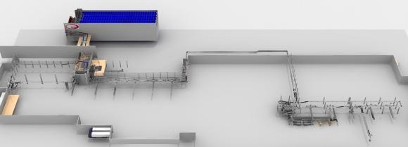 Dematic automatisiert das neue Logistikzentrum der ZKW Lichtsysteme GmbH und installiert dort ein maßgeschneidertes Dematic Multishuttle-Lager in Silobauweise. (Foto: Dematic)