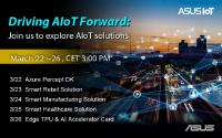 ASUS IoT Announces AIoT Forward Webinar Series