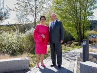 Christiane Endrich und Thomas Jauch