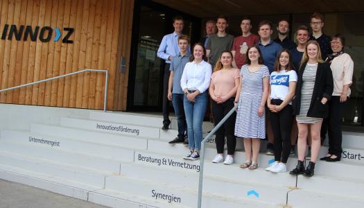 Die Hochschule Aalen betreut derzeit zehn Schülerstudierende aus vier verschiedenen Schulen des Ostalbkreises © Hochschule Aalen/ Saskia Stüven-Kazi