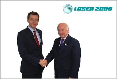 Laser 2000 and JDSU Commercial Laser sign Distribution Agreement