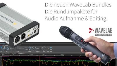 WaveLab Spezialedition für Yellowtec Recording Produkte