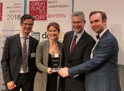 """National Instruments zählt zu """"Bayerns Besten Arbeitgebern 2016"""""""