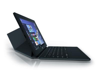 bluechip TRAVELline T10-E2 mit Windows 10 Home und Tastaturdock