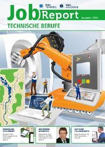 """Der WBS """"JobReport Technische Berufe"""" analysiert den Stellenmarkt und gibt Informationen zu Weiterbildungen im technischen Bereich"""
