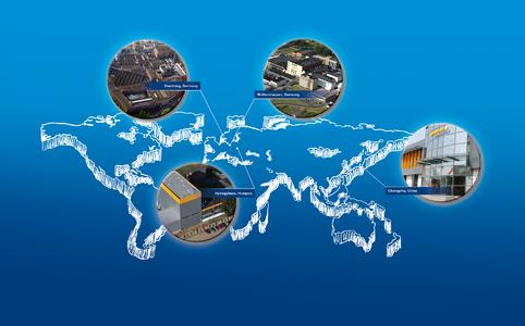 Phoenix Compounding Technology, a business unit of ContiTech AG, operates compounding plants at a number of locations worldwide. Photo: ContiTech