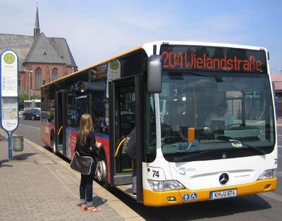 Auch die Busse der VGK Bad Kreuznach werden im Zuge der Systemeinführung mit den IVU-Bordrechnern ausgestattet