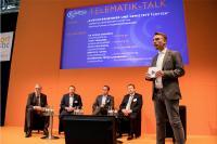 Der Telematik-Talk findet im Forum III der Halle A4 statt. Bild: Telematik-Markt.de