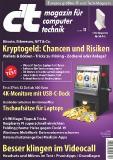 Titelblatt c't 11/21