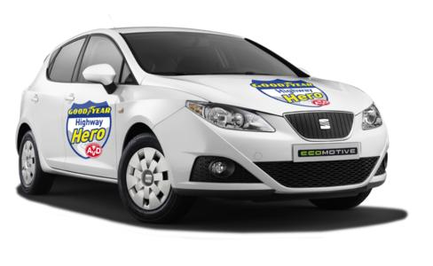 SEAT Ibiza Ecomotive Highway Hero gerade