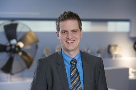 Daniel Lemke, Market Management Vertrieb und Marketing bei ebm-papst Mulfingen.