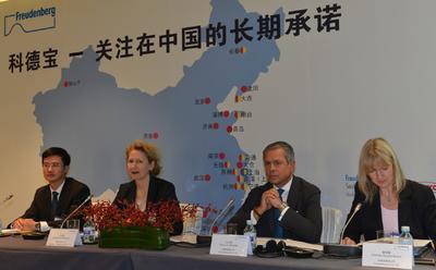 freudenberg setzt wachstum in china ungebremst fort freudenberg co kg pressemitteilung. Black Bedroom Furniture Sets. Home Design Ideas