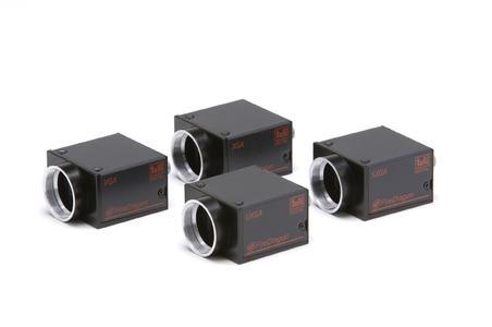 FireDragon: Industrie-Kameras mit FireWire-B-Anschluss