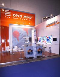 OPEN MIND Technologies participated in this year's EuroMold with two stands