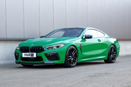BMW M8 Competition Coupé mit H&R Sportfedern
