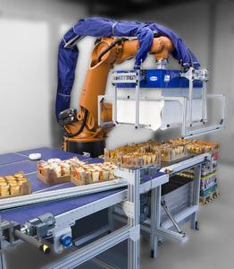 Weltneuheit: Die Palettier-/Depalettierzelle Layer Master ist eine Automatisierungslösung zum De- und Umpalettieren sortenreiner Lagen.