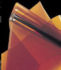 METOLIGHT SFG-10, goldgelbe UV-Filterfolie