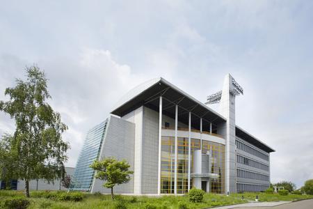 Verwaltungsgebäude der Schüco Polymer Technologies KG in Weißenfels
