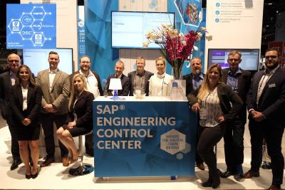 PLM Alliance at SAPPHIRE NOW® Showcased SAP® Engineering Control Center: Where the Digital Twin Begins!