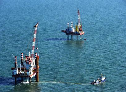 Bau des Offshore Windparks von WindMW (Quelle: WindMW)