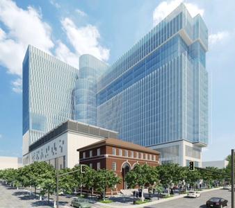 TWIN at Atlanta Technology Square / (c) Portman Holdings