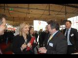 Staatsministerin Dr. Merk mit Axel Stett von certgate (NEF)
