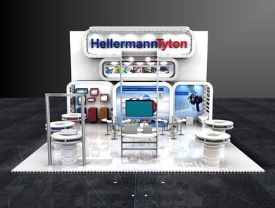 Die Kabelmanagement-Spezialisten von HellermannTyton präsentieren spannende Innovationen auf 80 qm2