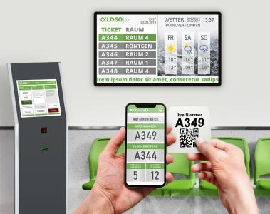 Covid 19 in Deutschland Patientenaufrufsysteme erhöhen Sicherheit für Patienten und Personal
