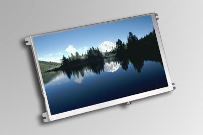 7-inch TFT video module in 16:9 format with  brightness of 1000 cd/m² and LED backlight