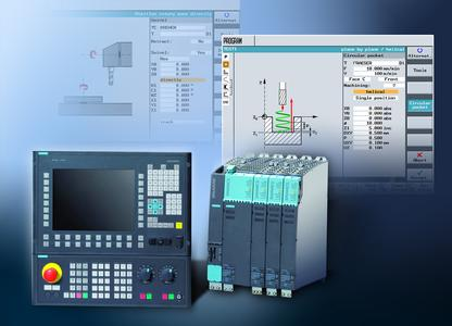 Siemens Automation and Drives (A&D) has significantly expanded the functions of the workshop programs ShopTurn and ShopMill. The new functions significantly reduce the programming time for CNC applications